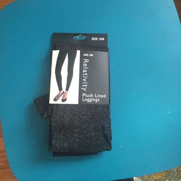 New sparkly leggings. New black sparkly leggings. Relativity Pants Leggings