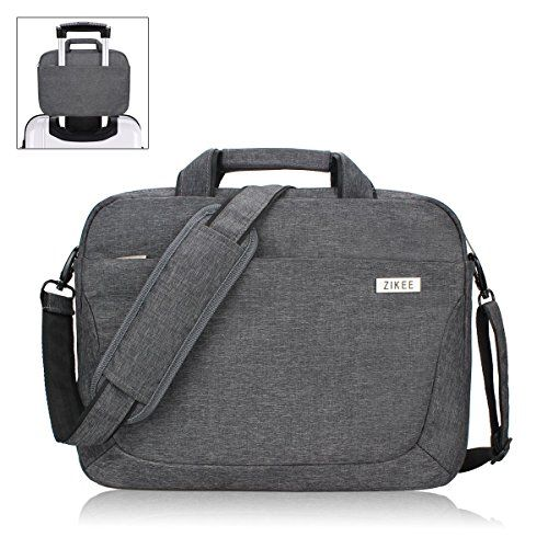 sweet  Zikee laptop sleeve business shoulder bag 13 13.3 14 inch Water-resistant Oxford Fabric Notebook Computer Briefcase Carrying Case Cover with pocket/handle/strap, for Acer/Asus VivoBook/Dell/Lenovo/HP