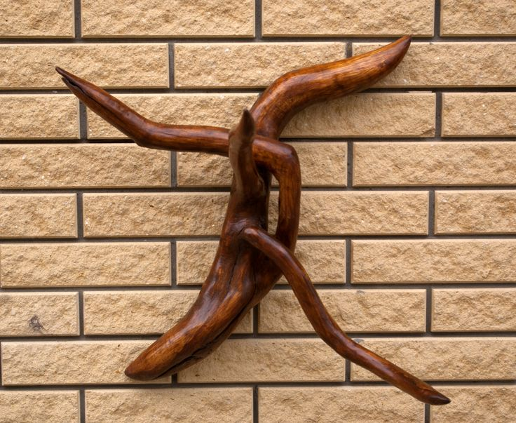 Wooden decor / erotic and sexual / Interweaving snags / product of the roots / Decor wall / bedroom / decor of driftwood / Gifts Wood by KrainaHandmade on Etsy