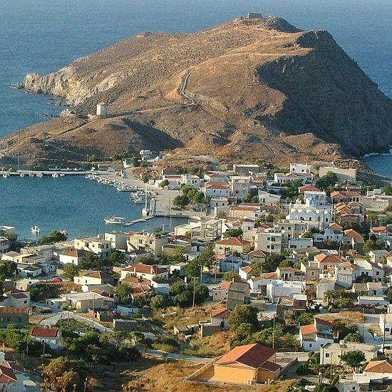 Psara Island in the Aegean, Greece