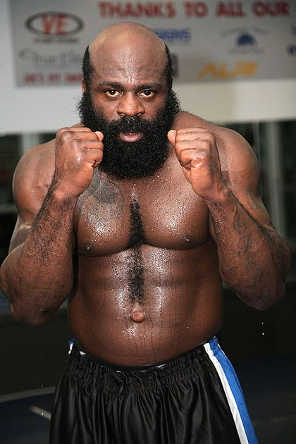 Kimbo Slice... damn tough even trims the chest hairs for maximum effect!!!