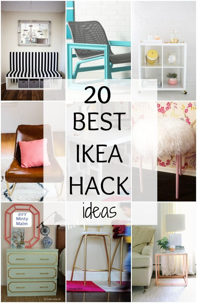 20 Best IKEA Hack Ideas A Blissful Nest #ablissfulnest #ABlissfulNest #InteriorDesign #Decorator #Stylist #Blissful #HappyHome #designtips #ikea #hack #tricks #tips #furniturehacks #diy #diys #diyideas #diytips  #diytutorial #diyinspiration #lifeledbycolor #diydecor #diyfun #diyproject