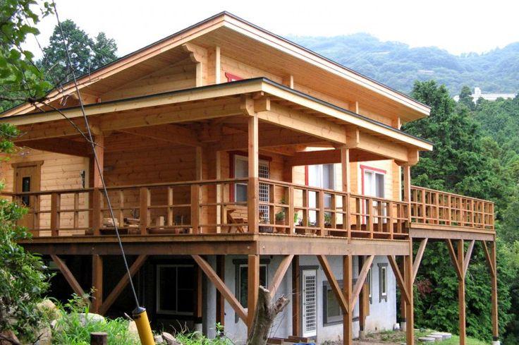Chalet finlandais d'Ikihirsi - fabricant finlandais des maisons en bois modernes