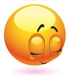 Blushing Emoticon