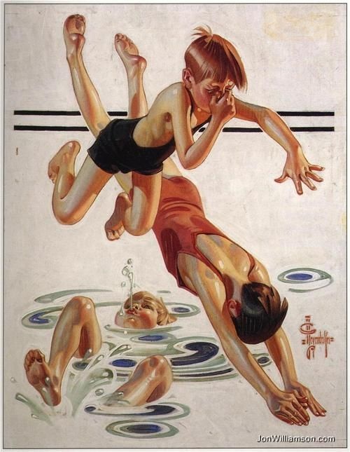 Drawn ByJ.C Leyendecker