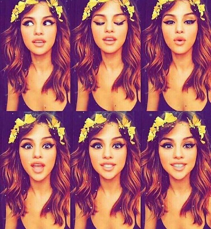 Selena Gomez, She is selfie goals...