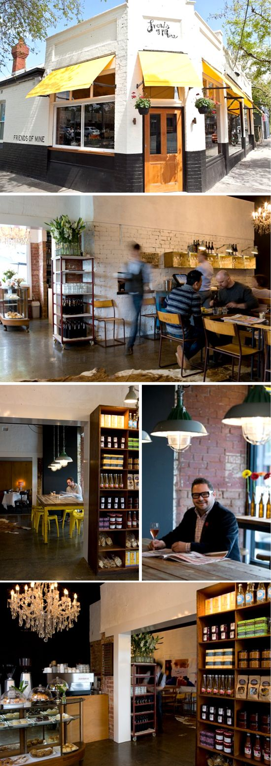 Would love to have a cafe like this one day... cafe love - friends of mine, melbourne