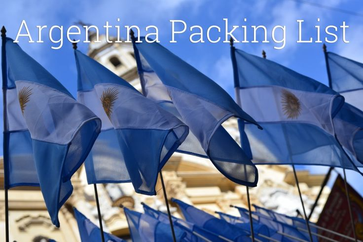 argentinapackinglist 1024x683 Argentina Packing List: List of Gear to Pack When Visiting Argentina