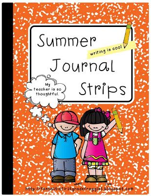 Summer Journal For End Of Year Gift Fantastic First Grade Froggies