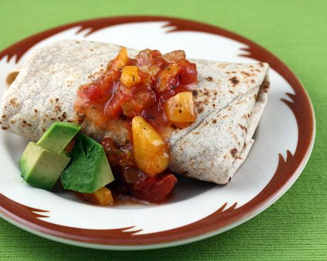Black bean and brown rice burrito | Recipes | Pinterest