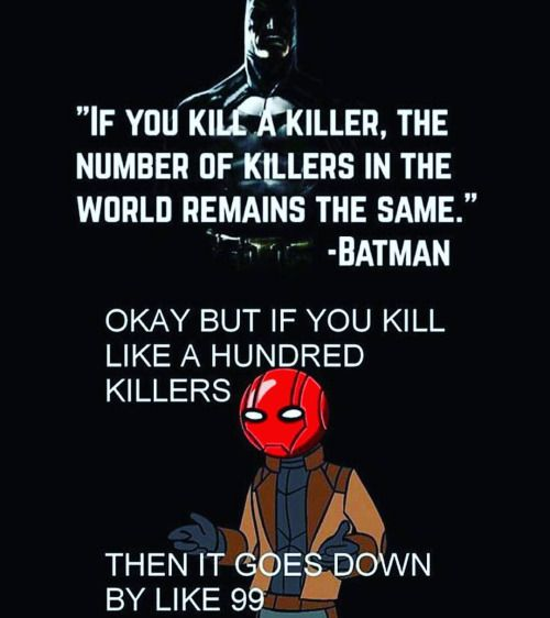 red hood quotes batman - Google Search
