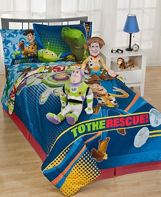 Disney Pixar Bedding Toy Story 3d Comforter Sets Kids