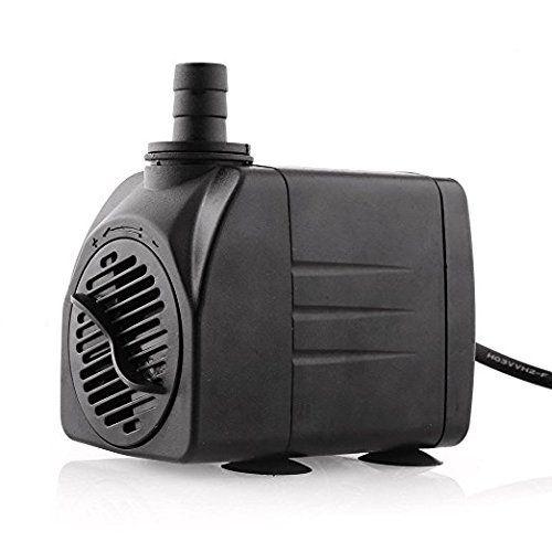 amzdeal Pompe à oxygène pompe submersible Aquarium pompe: Price:13.99Le débit peut être réglé individuellement. Quatre ventouses assurent…