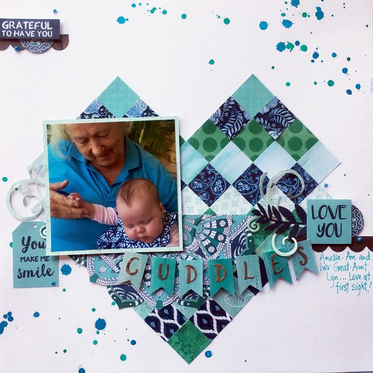 I am back today to share my classes for this week at Scrapbook Fantasies….. Cardmaking Class My Cardmaking Class this week is a trio of Birthday cards using the Kaisercraft Party Time collect…