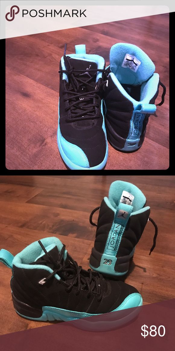 Kids size 13 Nike Air Jordan Retro 12's like new! Like new Retro 12's from pet and smoke free home! Nike Shoes Sneakers