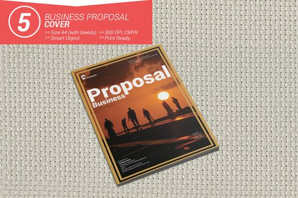 Business Proposal Cover by MAGOO STUDIO on Creative Market