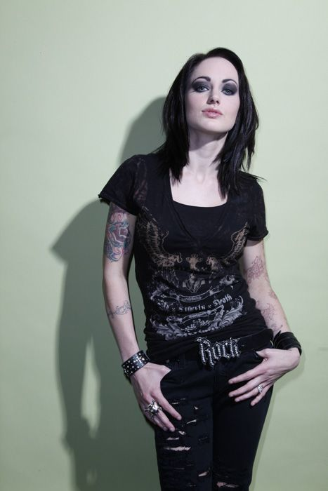 The Hottest Chicks in Metal: Sarah Anthonythe Outtakes! - Heavy Metal News