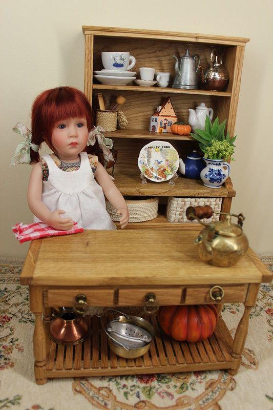 Кухня для любимой куклы / Авторские куклы и игрушки у нас дома / Бэйбики. Куклы фото. Одежда для кукол