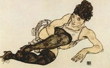 Akt von Egon Schiele  http://pinterest.com/wandbilder/