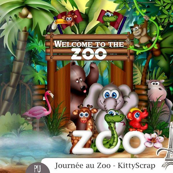 Le Blog de kittyscrap: ESSENTIEL : Journée au zoo