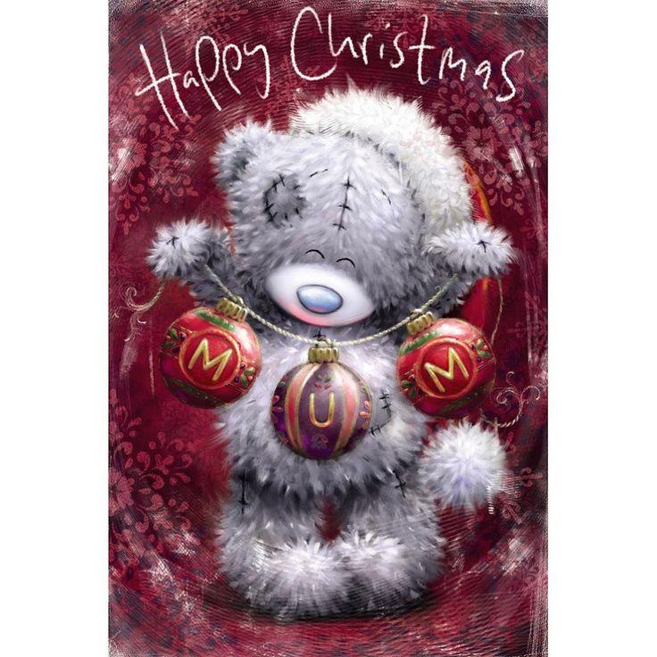 Mum Me to You Bear Christmas Card  £2.49