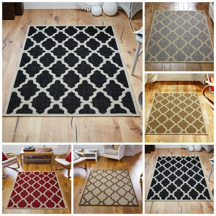 Oriental Weavers TRELLIS FLATWEAVE Rug Runner Anti Slip 100% Polypropylene