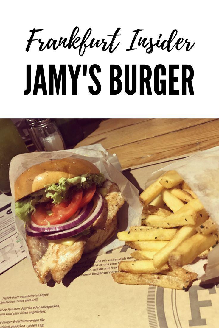 Beste und leckerster Burger in Frankfurt Jamy's Burger mein Frankfurt Insider
