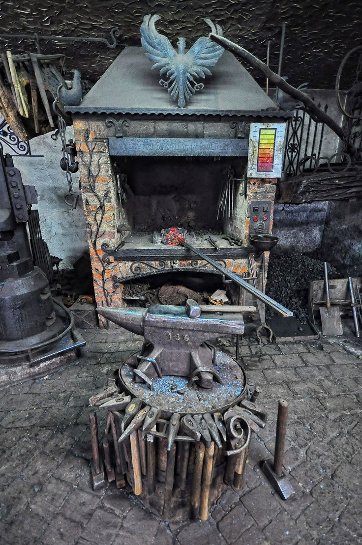 Forgotten Poland - old blacksmith forge, by Agi - Agnieszka Lewkowicz (flickr)