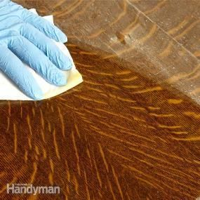 How to Refinish Furniture without stripping and other wood fixes