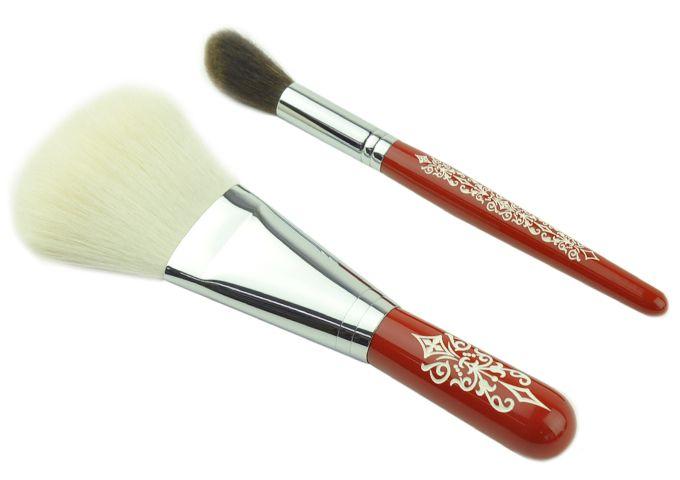 フェイスアップセット(レース) - 熊野筆・メイクブラシ・化粧筆の丹精堂オンラインショップ:ファンデーションブラシ、フェイスブラシなど多数販売