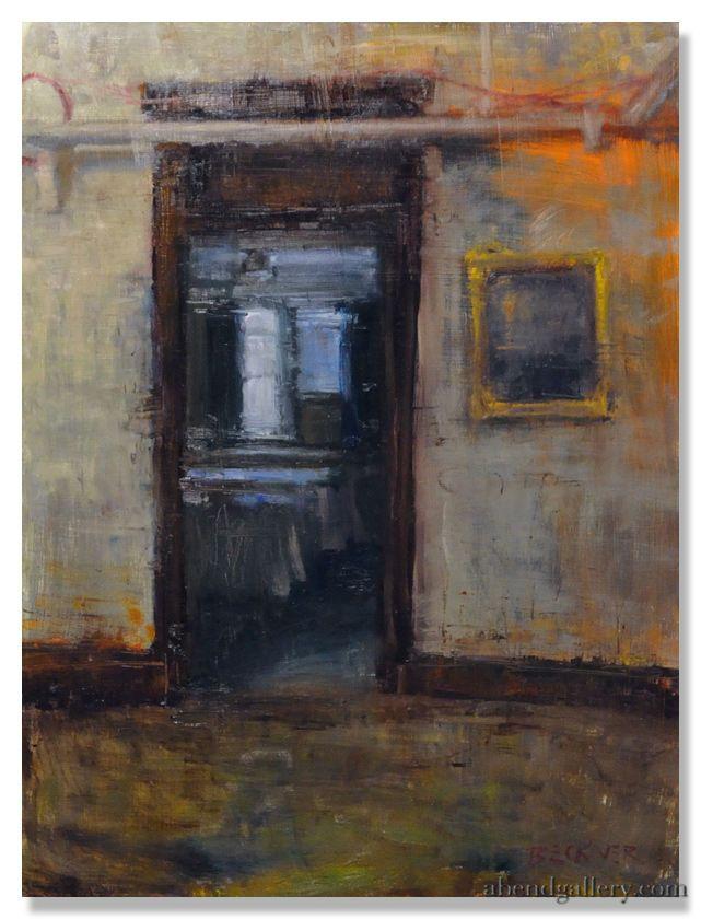 """Jim Beckner I """"Hotel Room"""" I Oil, 24 x 18"""""""
