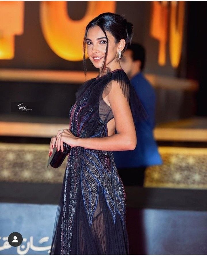 Salma Abudaif Beautiful Smile Egyptian Actress Beautiful Smile Fashion