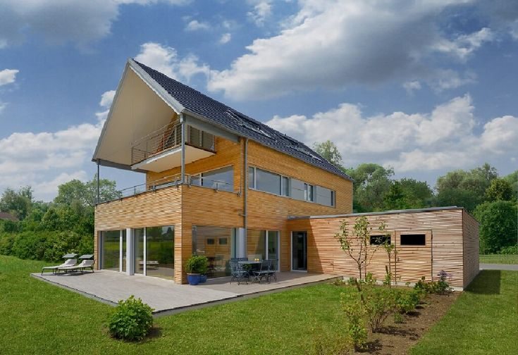 Mehrfamilienhaus erstling baufritz http www for Fertighaus satteldach modern