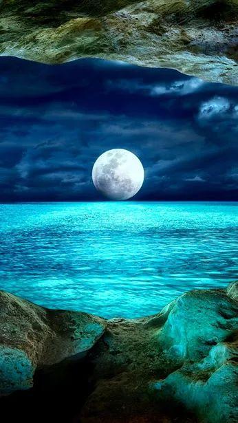 ~J beautiful moon