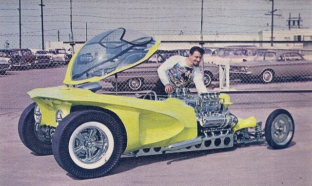 "IMAGES OF ED ROTHS CUSTOMS | Ed ""Big Daddy"" Roth's original Mysterion 