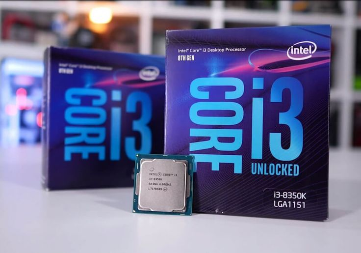 Intel Core i3-8100 and Core i3-8350K Review: RIP Ryzen 3?