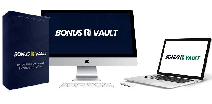 The Bonus Vault makes selling affiliate products the easiest thing ever. The Bonus Vault is a custom-created vault of bonuses we give away in each affiliate promotion to make more money and make people buy from US and not anybody else.