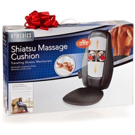 Import Homedics Usa Massaging Cushion W Heat Shiatsu Massage