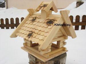 Großes Vogelhaus Vogelfutterhaus Vogelhäuser Vogelhäuschen Holz Bunt Vogelvilla   eBay