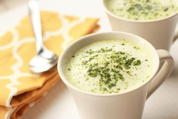 how to make green tea latte