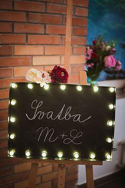 Originální a jedinečná svítící písmena jako dekorace na vaší svatbu, party…