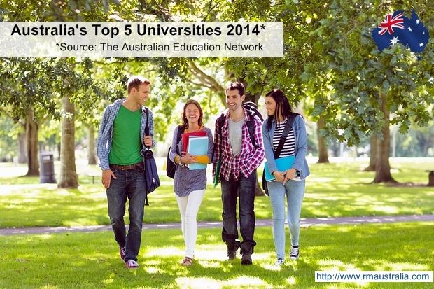 What are Australia's best ranked universities?  What are the basic education providers in Australia? What are the health requirements of a student visa? Find out more under our student visa section http://www.rmaustralia.com/student-visa.html