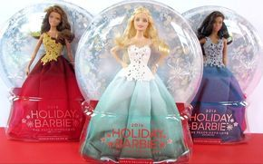 2016 HOLIDAY BARBIES - PEACE, HOPE, and LOVE COLLECTION - 3 NEW DOLLS - ...