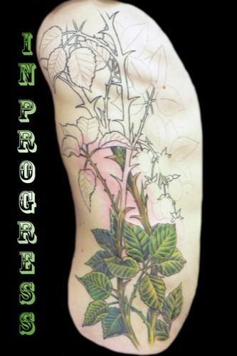 blackberry vines slowly they grow in tattoos by natasha erickson tattoo ideas pinterest. Black Bedroom Furniture Sets. Home Design Ideas