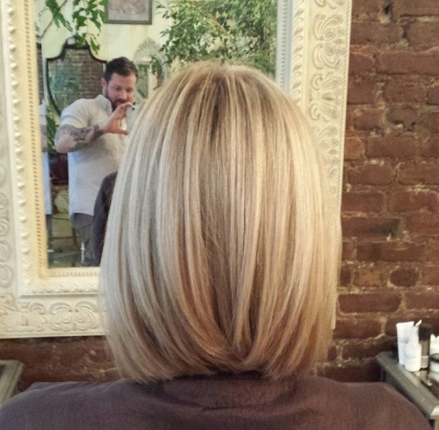 Sets and Sequins - First of the Month FAVORITES - Long Bob hair cut style Kristin Taekman Real Housewives of New York City Blonde Short Hair