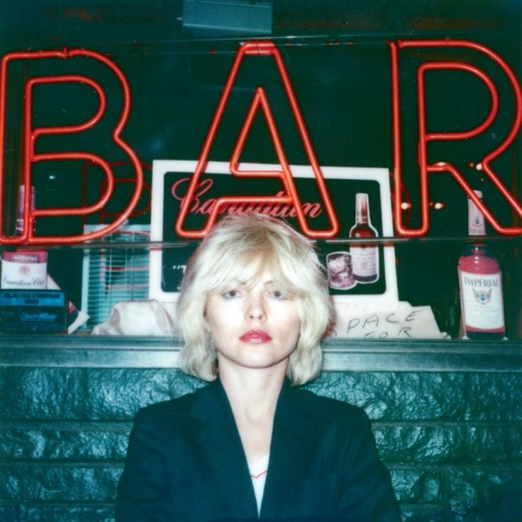 """""""Debbie Outside a Bar"""", New York, 1979 by Edo Bertoglio. Muses of 1980s NYC: http://www.dazeddigital.com/photography/article/25305/1/these-polaroids-capture-party-buzzed-new-york-in-the-80s"""