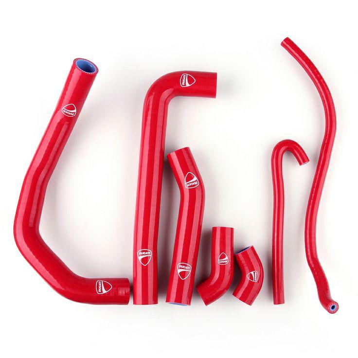 Mad Hornets - Silicone Radiator Coolant Hose Ducati 1199 (2012-2013), Red, $69.99 (http://www.madhornets.com/silicone-radiator-coolant-hose-ducati-1199-2012-2013-red/)