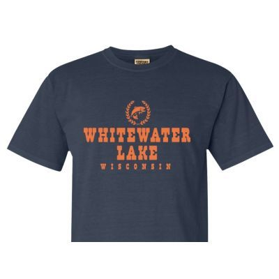 Share your waterfront pride with our exclusive T-shirt personalized with  the name of your favorite lake.