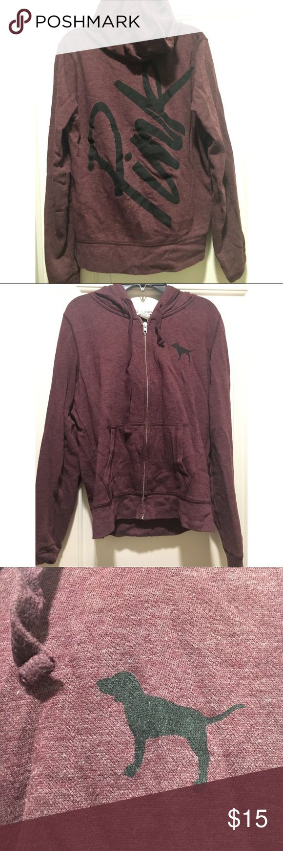 Victoria's Secret PINK Burgundy Hoodie Brand: PINK Size: small Condition: gently worn  Shipping: next business day  Bundle: discounts available  ~Make offers~  #victoriassecret #hoodie #burgundy #cute #fashion #comfortable #fall #small #winter #relax #gym #workout #pink #makeoffers #bundletosave #dressitdown #sweatshirts PINK Victoria's Secret Tops Sweatshirts & Hoodies