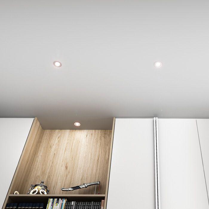 RINO   rendl light studio   Infälld lampa i metall, lämplig i våta miljöer. Frontpanelerna är utbytbara. Paneler säljs separat. #interiörbelysning #infällda #badrumsbelysning #lampor